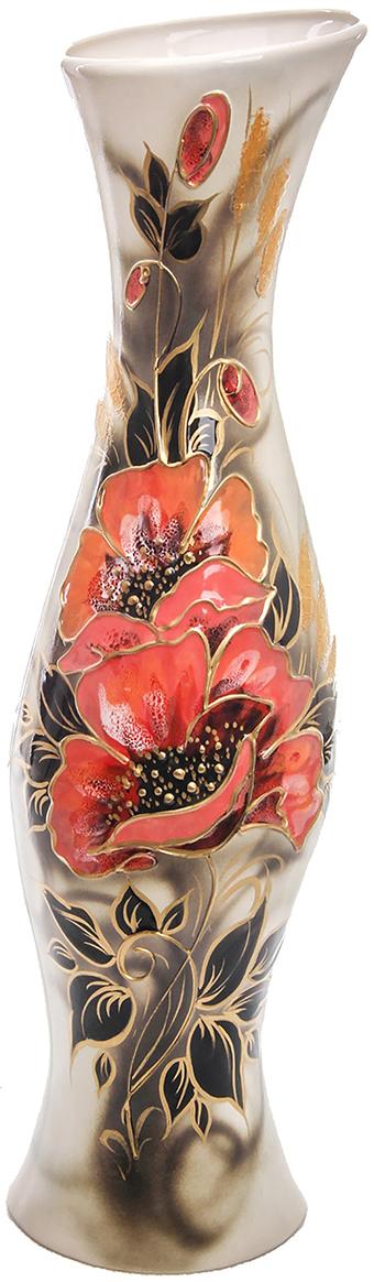 Ваза напольная Керамика ручной работы Натали, цвет: коричневый, большая774478Это ваза - отличный способ подчеркнуть общий стиль интерьера.Существует множество причин иметь такой предмет дома. Вот лишь некоторые из них:Формирование праздничного настроения. Можно украсить вазу к Новому году гирляндой, тюльпанами на 8 марта, розами на день Святого Валентина, вербой на Пасху. За счёт того, что это заметный элемент интерьера, вы легко и быстро создадите во всём доме праздничное настроение.Заполнение углов, подиумов, ниш. Таким образом можно сделать обстановку более уютной и многогранной.Создание групповой композиции. Если позволяет площадь пространства, разместите несколько ваз так, чтобы они сочетались по стилю или цветовому решению. Это придаст обстановке более завершённый вид.Подходящая форма и стиль этого предмета подчеркнут достоинства дизайна квартиры. Ваза может стать отличным подарком по любому поводу, ведь такой элемент интерьера практичен и способен каждый день создавать хорошее настроение!