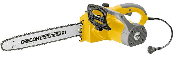 Цепная электропила Denzel ELS-2000, с поперечным двигателем95601Пила цепная электрическая торговой марки DENZEL предназначена для распиловки древесины из различных пород.Поперечное расположение двигателя уменьшает габариты инструмента, позволяя выполнять работу в местах с ограниченным свободным пространством.Модель ELS-2000 оснащена шиной и цепью компании Oregon, которая является мировым лидером в производстве пильных фурнитур.При мощности 2 кВт частота оборотов двигателя составляет 8000 об/мин, а скорость движения цепи 13,5 м/с, что является показателем профессионального инструмента.