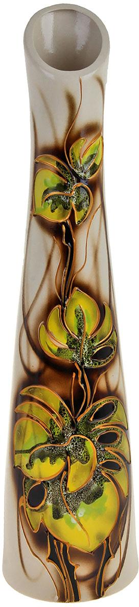 Ваза напольная Керамика ручной работы Беатриче, цвет: желтый788011А знаете ли вы, что вазы активно применялись для украшения интерьера ещё до нашей эры? В античные времена ваза была символом достатка и благосостояния владельца, её могли позволить себе только богатые люди, зато в большом количестве. Сегодня же вазы доступны всем. Приобретая напольную вазу, вы делаете отличный вклад в создание неповторимой атмосферы уюта. Именно поэтому напольная ваза, также, отличный подарок для любого человека.