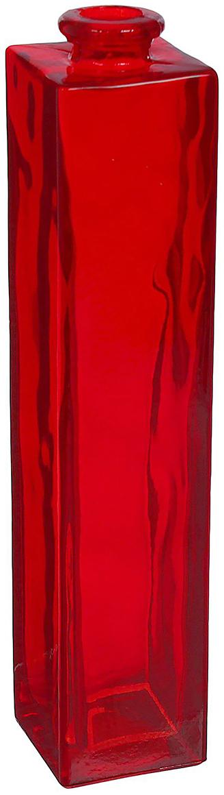 Ваза Evis Нарцисс, цвет: красный, 450 мл798720Ваза - не просто сосуд для букета, а украшение убранства. Поставьте в неё цветы или декоративные веточки, и эффектный интерьерный акцент готов! Стеклянный аксессуар добавит помещению лёгкости. Ваза Нарцисс преобразит пространство и как самостоятельный элемент декора. Наполните интерьер уютом!Каждая ваза выдувается мастером. Второй точно такой же не встретить. А случайный пузырёк воздуха или застывшая стеклянная капелька на горлышке лишь подчёркивают её уникальность.