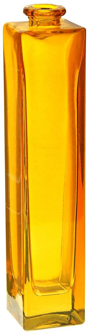 Ваза Evis Нарцисс, цвет: оранжевый, 0,45 л798721Ваза - не просто сосуд для букета, а украшение убранства. Поставьте в неё цветы или декоративные веточки, и эффектный интерьерный акцент готов! Стеклянный аксессуар добавит помещению лёгкости. Ваза Нарцисс оранжевая, прозрачная, 0,45 л преобразит пространство и как самостоятельный элемент декора. Наполните интерьер уютом! Каждая ваза выдувается мастером. Второй точно такой же не встретить. А случайный пузырёк воздуха или застывшая стеклянная капелька на горлышке лишь подчёркивают её уникальность.