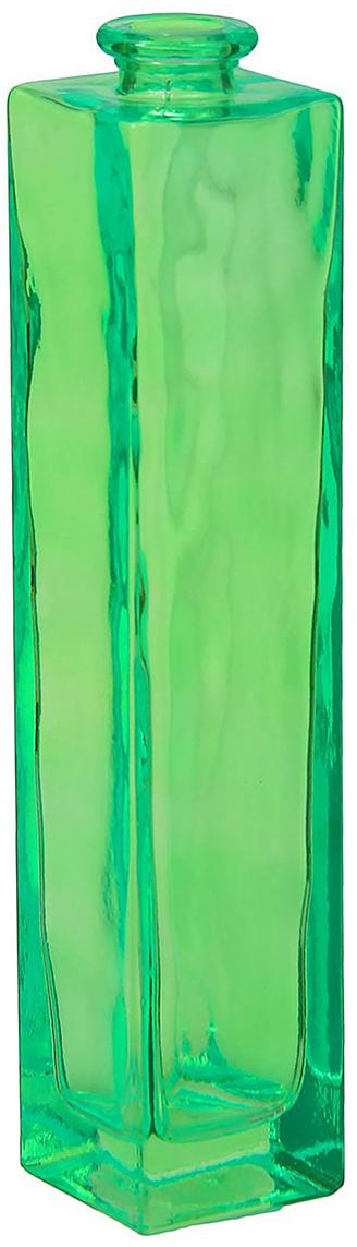 Ваза Evis Нарцисс, цвет: зеленый, 450 мл798722Ваза - не просто сосуд для букета, а украшение убранства. Поставьте в неё цветы или декоративные веточки, и эффектный интерьерный акцент готов! Стеклянный аксессуар добавит помещению лёгкости. Ваза Нарцисс преобразит пространство и как самостоятельный элемент декора. Наполните интерьер уютом! Каждая ваза выдувается мастером. Второй точно такой же не встретить. А случайный пузырёк воздуха или застывшая стеклянная капелька на горлышке лишь подчёркивают её уникальность.