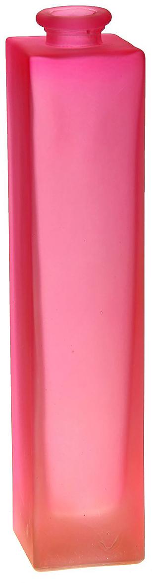 Ваза Evis Нарцисс, цвет: розовый, 0,45 л798724Ваза - не просто сосуд для букета, а украшение убранства. Поставьте в неё цветы или декоративные веточки, и эффектный интерьерный акцент готов! Стеклянный аксессуар добавит помещению лёгкости. Ваза Нарцисс розовая, матовая, 0,45 л преобразит пространство и как самостоятельный элемент декора. Наполните интерьер уютом! Каждая ваза выдувается мастером. Второй точно такой же не встретить. А случайный пузырёк воздуха или застывшая стеклянная капелька на горлышке лишь подчёркивают её уникальность.