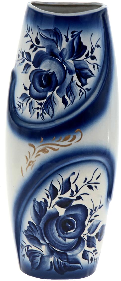 Ваза Керамика ручной работы Феникс, цвет: синий825227Ваза - сувенир в полном смысле этого слова. И главная его задача - хранить воспоминание о месте, где вы побывали, или о том человеке, который подарил данный предмет. Преподнесите эту вещь своему другу, и она станет достойным украшением его дома. Каждому хозяину периодически приходит мысль обновить свою квартиру, сделать ремонт, перестановку или кардинально поменять внешний вид каждой комнаты. Ваза - привлекательная деталь, которая поможет воплотить вашу интерьерную идею, создать неповторимую атмосферу в вашем доме. Окружите себя приятными мелочами, пусть они радуют глаз и дарят гармонию.
