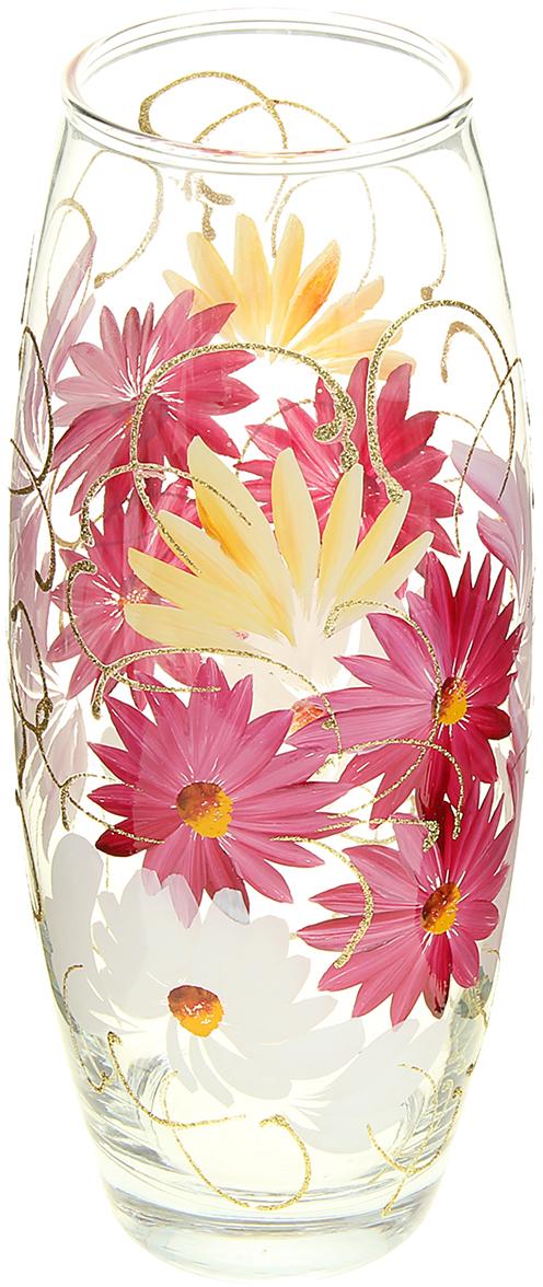 Ваза Медуница, 26 см878196Ваза - не просто сосуд для букета, а украшение убранства. Поставьте в неё цветы или декоративные веточки, и эффектный интерьерный акцент готов! Стеклянный аксессуар добавит помещению лёгкости. Ваза Медуница овальная преобразит пространство и как самостоятельный элемент декора. Наполните интерьер уютом! Каждая ваза выдувается мастером. Второй точно такой же не встретить. А случайный пузырёк воздуха или застывшая стеклянная капелька на горлышке лишь подчёркивают её уникальность.