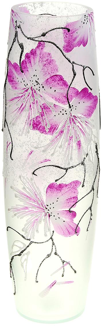 Ваза Нежные цветы, цвет: белый, 40 см айпад в екатеринбурге по самой низкой цене