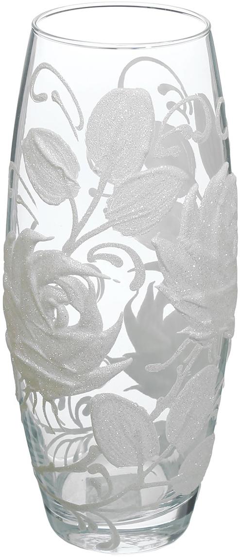 """Ваза """"Белые цветы"""" - сувенир в полном смысле этого слова. И главная его задача -  хранить воспоминание о месте, где вы побывали, или о том человеке, который  подарил данный предмет. Преподнесите эту вещь своему другу, и она станет  достойным украшением его дома. Каждому хозяину периодически приходит мысль обновить свою квартиру, сделать  ремонт, перестановку или кардинально поменять внешний вид каждой комнаты.  Ваза """"Белые цветы"""" - привлекательная деталь, которая поможет воплотить вашу  интерьерную идею, создать неповторимую атмосферу в вашем доме. Окружите  себя приятными мелочами, пусть они радуют глаз и дарят гармонию. Невозможно представить нашу жизнь без праздников! Мы всегда ждём их и  предвкушаем, обдумываем, как проведём памятный день, тщательно выбираем  подарки и аксессуары, ведь именно они создают и поддерживают торжественный  настрой. Ваза """"Белые цветы"""" - это отличный выбор, который привнесёт атмосферу  праздника в ваш дом!"""