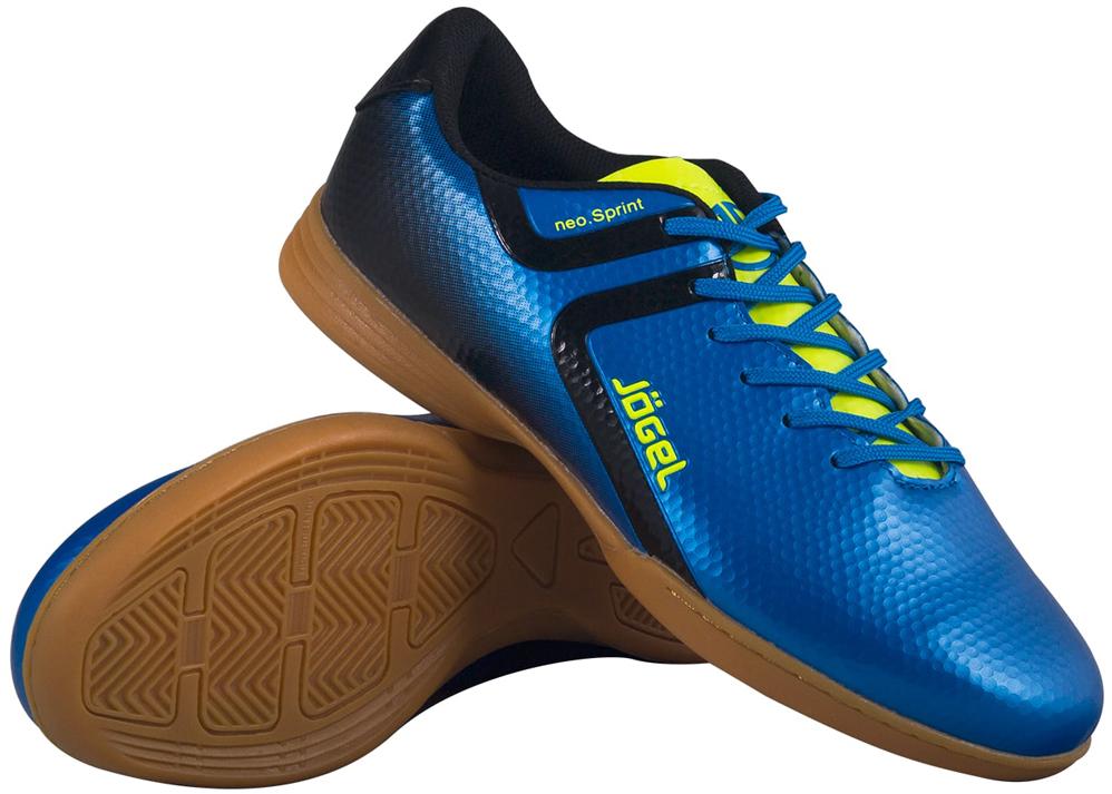 Бутсы для футзала мужские Jogel Rapido, цвет: синий. JSH4001. Размер 45 бутсы футбольные мужские jogel rapido цвет синий jsh1001 размер 45