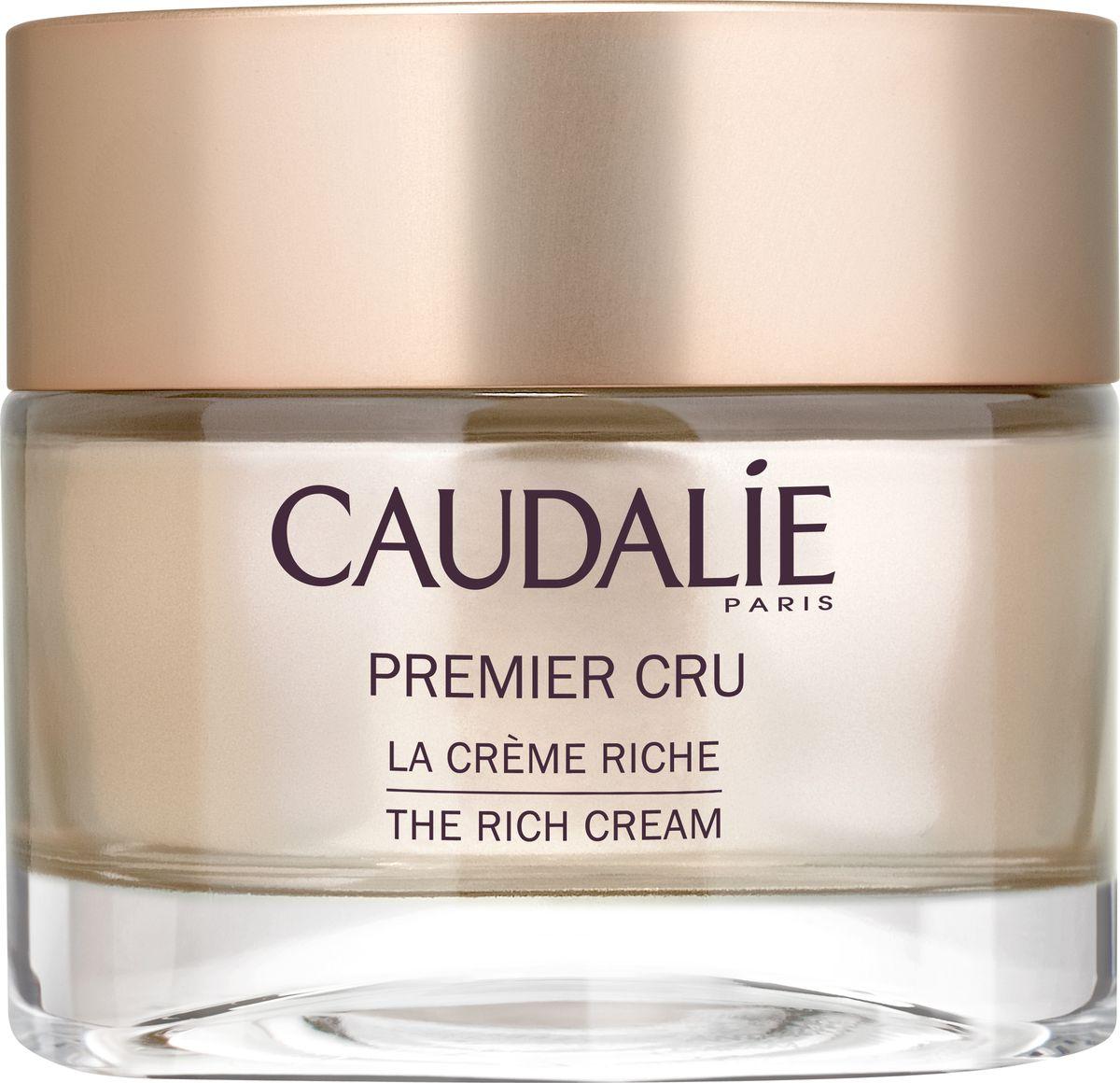 Caudalie Омолаживающий крем для сухой кожи Premier Cru, 50 мл caudalie омолаживающий крем для глаз premier cru 15 мл