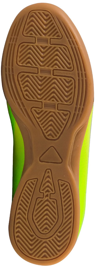 """Зальные бутсы Jogel """"Rapido Kids"""" из линейки neo.Sprint предназначены для игры в зале и других ровных поверхностях, а также подходят для повседневной носки. Данная модель выполнена в минималистичном дизайне с использованием ярких цветовых решений.Анатомически правильная колодка обеспечивает удобное положение стопы. Прошивка в носочной части придает дополнительную надежность конструкции ботинка. Съемная анатомическая стелька изготовлена из вспененного материала ЭВА, который обеспечивает дополнительную амортизация и уменьшает нагрузку на опорно-двигательный аппарат ребенка. В данной модели применена удобная липучка и не требующие завязки резиновые шнурки, которые позволяют быстро и надежно затянуть обувь по ноге и не тратить время на шнуровку. Подошва обуви выполнена по технологии Non-marking, что обеспечивает безупречное сцепление с гладкими полированными поверхностями и не оставляет следов на паркете.В производстве обуви Jogel используются только качественные гипоаллергенные материалы, обувь легко моется и не требует дополнительного ухода."""