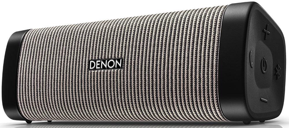 Denon Envaya DSB-250, Grey портативная акустическая системаDSB250BTBGEMDenon Envaya DSB-250 - идеальная повседневная колонка. Готовите ли вы на кухне, или берете с собой колонку чтобы прогуляться в парке - с Envaya музыка может звучать везде. Класс пыле и водонепроницаемости IP67 означает, что Envaya готова даже к серьезным приключениям в походе.Для получения отличного звука инженеры Denon разработали новые динамики для каждой модели. Новые, инновационные технологии цифровой обработки звука, мощные усилители и прочный корпус обеспечивают качественный и мощный звук, с чистыми высокими и средними частотами, одновременно передавая глубокий бас с сохранением полного контроля и точности.Великолепное качество звука достигается благодаря технологии предварительной обработки звука, динамикам большего размера и более мощных встроенных усилителей. Динамики большого диаметра работают в паре с пассивным басовым излучателем, который аккуратно вписался в компактный дизайн этой колонки. Новейшие технологии обработки звука позволяют получить звук хорошего качества от любого источника.Denon Envaya защищена от воды и пыли. Класс защиты IP67 означает, что Envaya Pocket выдерживает погружение в воду на глубину до 1 метра в течение 30 минут. Для этого все разъемы закрываются защитными колпачками, зазоры защищены прокладками, а корпус водонепроницаем.Колонка Envaya оснащена беспроводным интерфейсом стандарта Bluetooth aptX Low Latency, способным воспроизводить потоковое аудио с качеством Audio-CD по Bluetooth, c минимальными задержками и надежным, устойчивым соединением.При включении питания устройство автоматически переходит в режим сопряжения. Просто откройте настройку Bluetooth на смартфоне и подтвердите сопряжение с Envaya. Если позднее Вы захотите подсоединить еще одну колонку, просто нажмите кнопку Bluetooth на устройстве. Нажатие и удерживание кнопки в течение 5 секунд позволит включить режим стереофонического сопряжения.Встроенный микрофон дает возможность использовать колонку дл