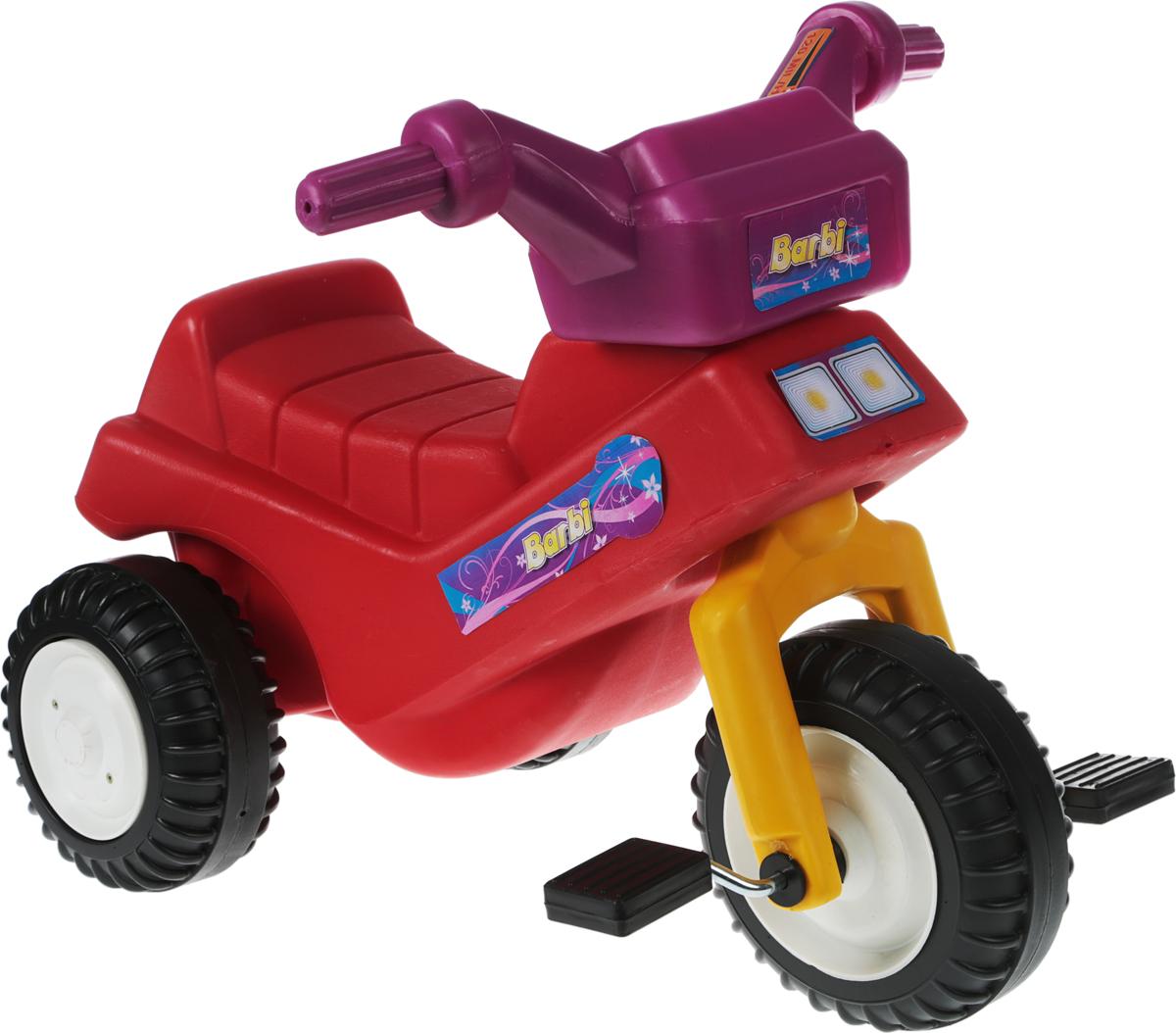 Тeos Велосипед-каталка Барби цвет красный - Велосипеды-каталки