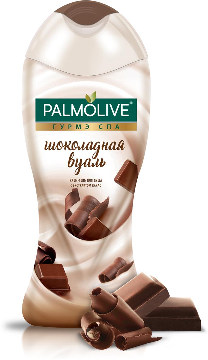 Palmolive Крем-гель для душа Гурмэ Спа Шоколадная Вуаль, с экстрактом какао, 250 мл hachez шоколадная плитка из какао сорта сан томе 73