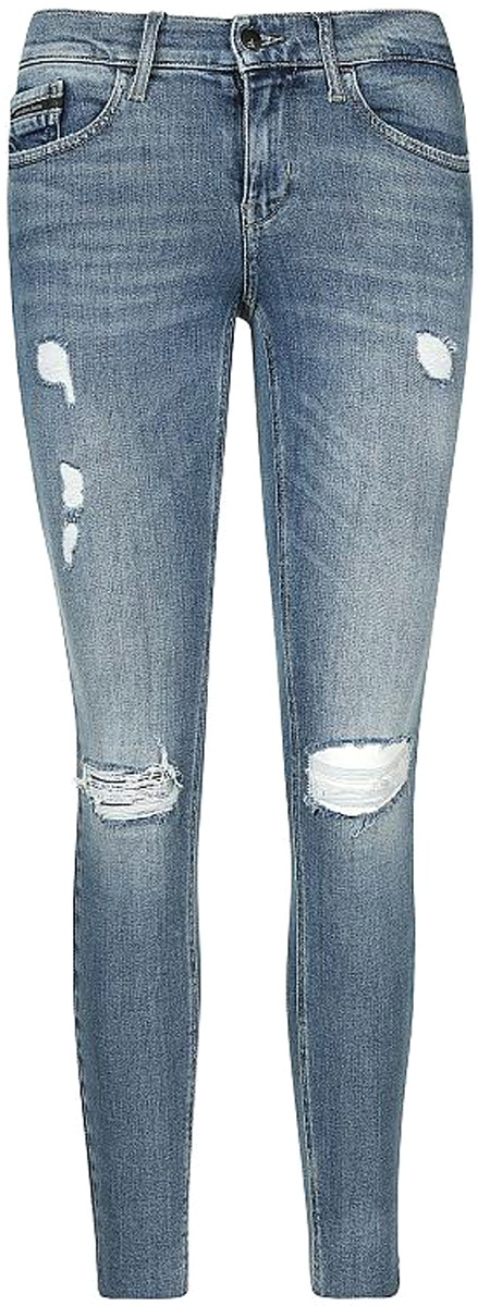 Джинсы женские Calvin Klein Jeans, цвет: синий. J20J206604_9113. Размер 30-32 (46/48-32) calvin klein new white black open front women s 12 textured jacket $149 038