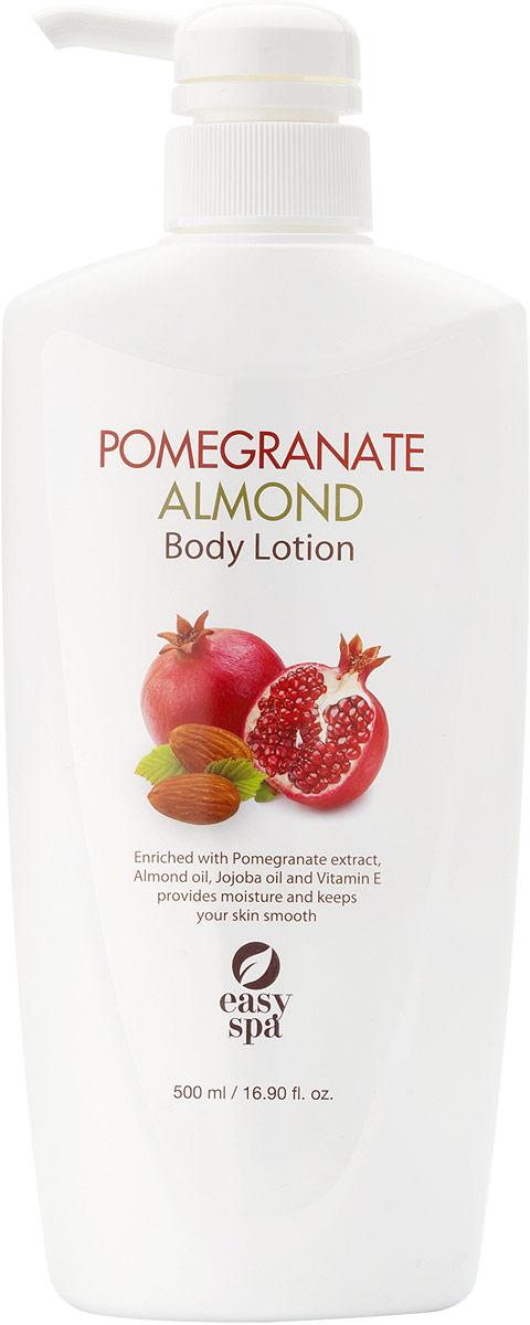 Easy Spa Лосьон для тела Pomegranate&Almond, 500 мл65046Экстракт граната и масло миндаля питают кожу и делают её более гладкой и эластичной.