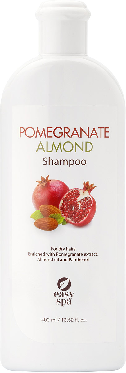 Easy Spa Шампунь для сухих волос Pomegranate&Almond, 400 мл lx spa pool heater h30 rsi spa heizung 3kw easy to install
