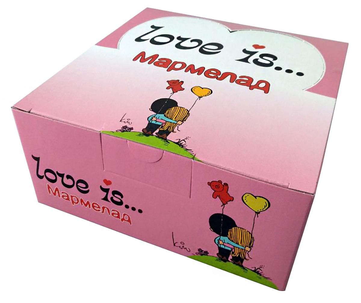 Love Is ЖуйМиксик мармелад жевательный со вкусом Холодок-малина, 24 шт по 25 г ударница мармелад со вкусом персика 325 г