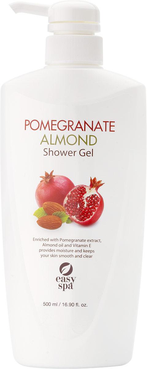 Easy Spa Гель для душа Pomegranate&Almond, 500 мл sea of spa крем морковный универсальный 500 мл