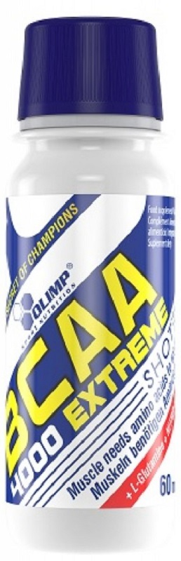 Аминокислоты Olimp Sport Nutrition BCAA Экстрим 4000, апельсин, 60 мл протеин olimp sport nutrition provit 80 ваниль 700 г