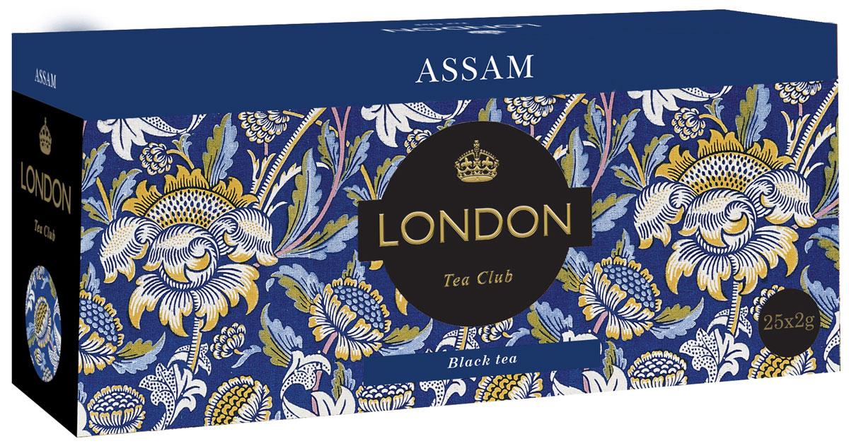 London Tea Club Аssam черный чай в пакетиках, 25 шт4607051541832Великолепный индийский Assam - достаточно терпкий и пряный, чтобы дарить бодрость, и достаточно мягкий, чтобы стать источником спокойствия и удовлетворения. Уважаемые клиенты! Обращаем ваше внимание на то, что упаковка может иметь несколько видов дизайна. Поставка осуществляется в зависимости от наличия на складе. Всё о чае: сорта, факты, советы по выбору и употреблению. Статья OZON Гид