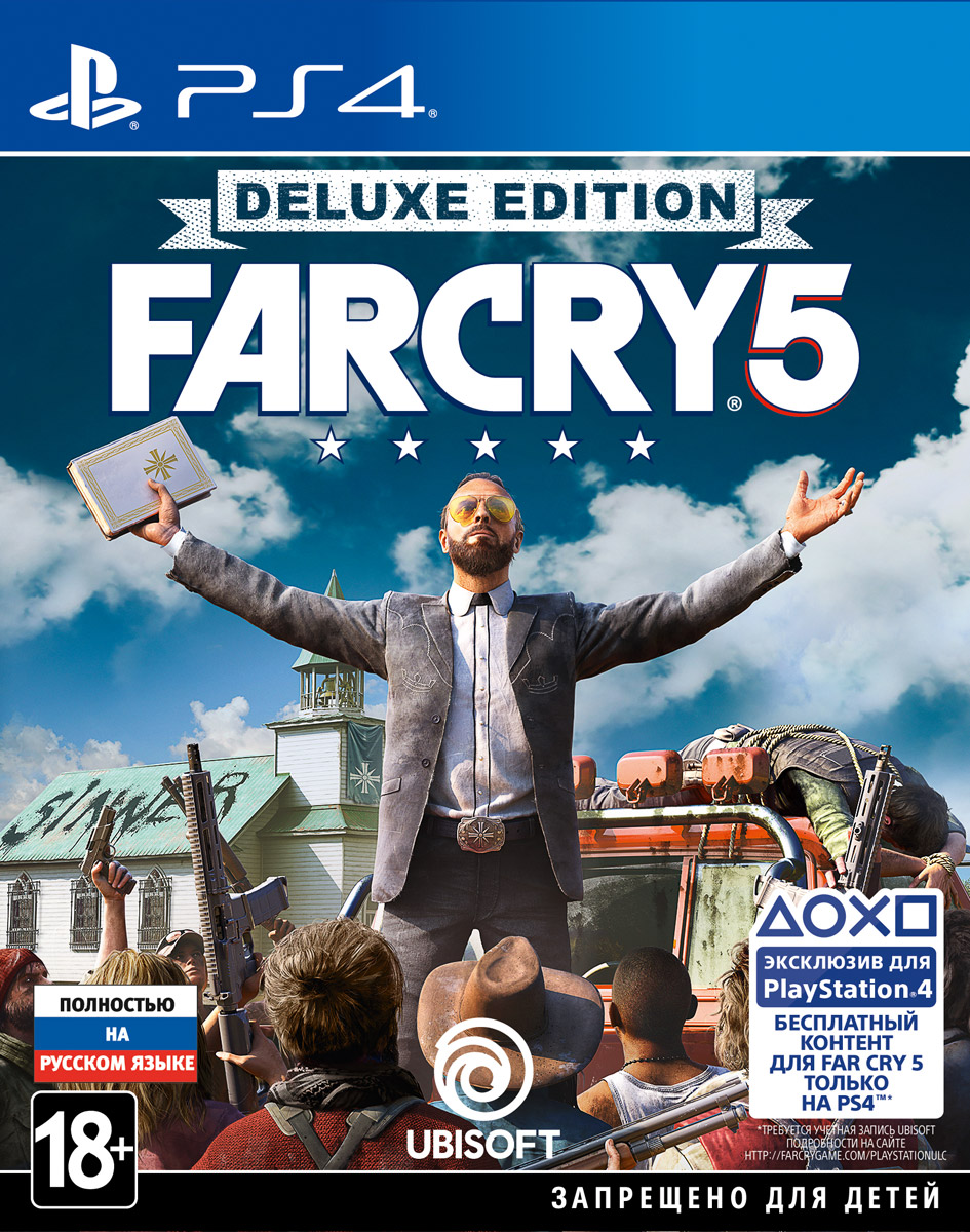 Far Cry 5. Deluxe Edition (PS4)