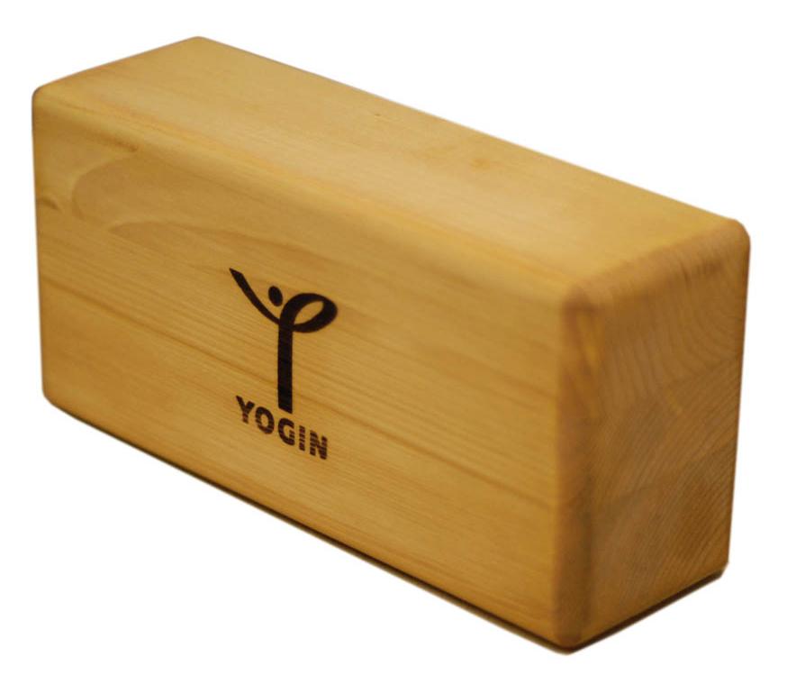 """Блок опорный для йоги """"Yogin"""", 12 х 8 х 23 см"""