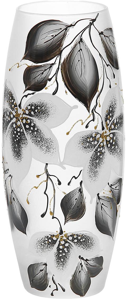 Ваза Александрия, цвет: коричневый, 26 см1184341Ваза - не просто сосуд для букета, а украшение убранства. Поставьте в неё цветы или декоративные веточки, и эффектный интерьерный акцент готов! Стеклянный аксессуар добавит помещению лёгкости. Ваза Александрия преобразит пространство и как самостоятельный элемент декора. Наполните интерьер уютом! Каждая ваза выдувается мастером. Второй точно такой же не встретить. А случайный пузырёк воздуха или застывшая стеклянная капелька на горлышке лишь подчёркивают её уникальность.