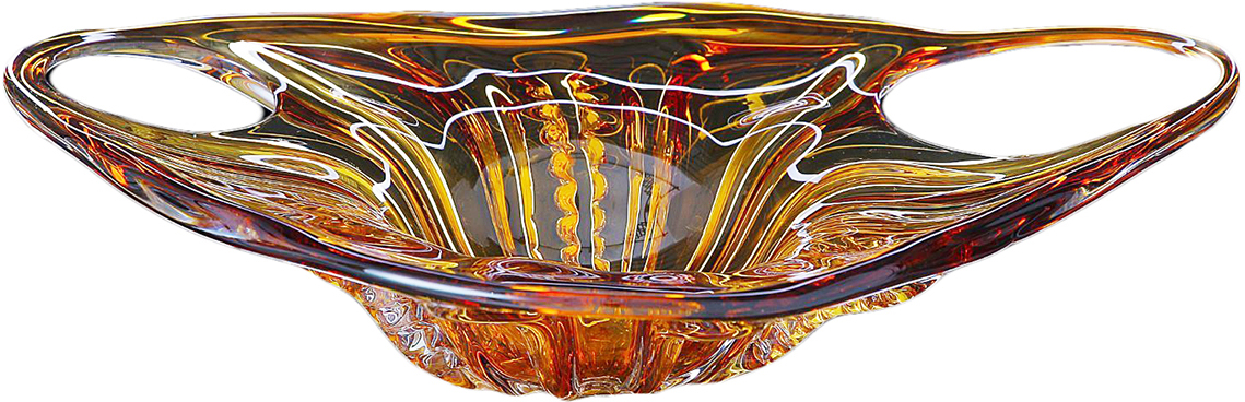 Ваза Годеция, цвет: оранжевый, 10 см119095Что подарить женщине, обладающей безукоризненным вкусом и знающей толк в стильных и красивых вещах? Наверняка ее не оставит равнодушной стеклянная ваза Годеция. Ее оригинальная форма и янтарно-карамельный оттенок обращают на себя внимание и вызывают заинтересованные взгляды. Благодаря своему прекрасному качеству эта ваза будет долго радовать свою обладательницу и напоминать ей о радостном дне, когда она была вручена, и о том, кто ее подарил.