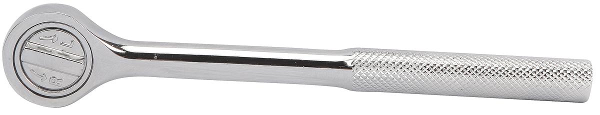 Ключ-трещотка Workpro, 1/2W071015Инструмент выполнен из инструментальной стали, прошел закалку для максимальной прочности. На инструмент нанесено покрытие их хрома, которое защищает его от коррозии.Посадочный квадрат – 1/2 дюйма. Инструмент оснащен храповым (трещотка) механизмом, который позволяет совершать движения ключом как вперед, так и в обратном направлении.Габариты инструмента : 260х40х40 мм. Вес 457 г