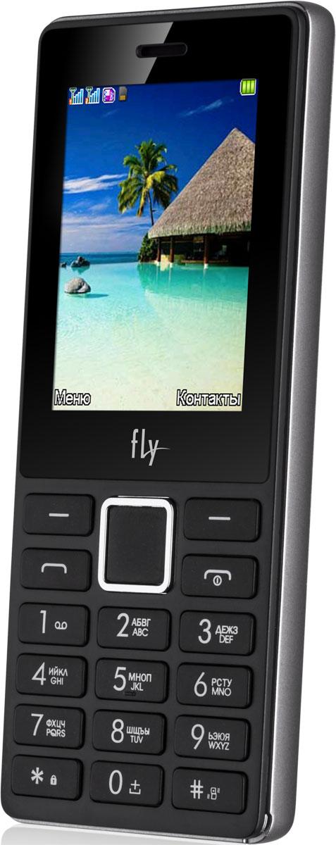 Fly FF248, Grey10820Мобильный телефон Fly FF248 оснащен 2,4-дюймовым экраном, созданным с применением технологии TN. За счет этого изображение на нем выглядит четким, ярким и контрастным.Встроенный проигрыватель дает возможность воспроизводить аудио- и видеофайлы разных форматов. Кроме того, телефон можно использовать в качестве миниатюрного радиоприемника. Модель FF248 читает MP3-файлы и поддерживает работу с картами памяти на 8 Гб. Мобильный телефон помогает экономить на оплате счетов за услуги связи. Он поддерживает две SIM-карты стандартных размеров, позволяя менять операторов или тарифы в зависимости от ситуации.Телефон оснащен емким аккумулятором 1000 мАч. Максимальная продолжительность работы устройства в режиме ожидания - 250 часов. При разговоре батареи хватает на 4 часа.Телефон сертифицирован EAC и имеет русифицированную клавиатуру, меню и Руководство пользователя.