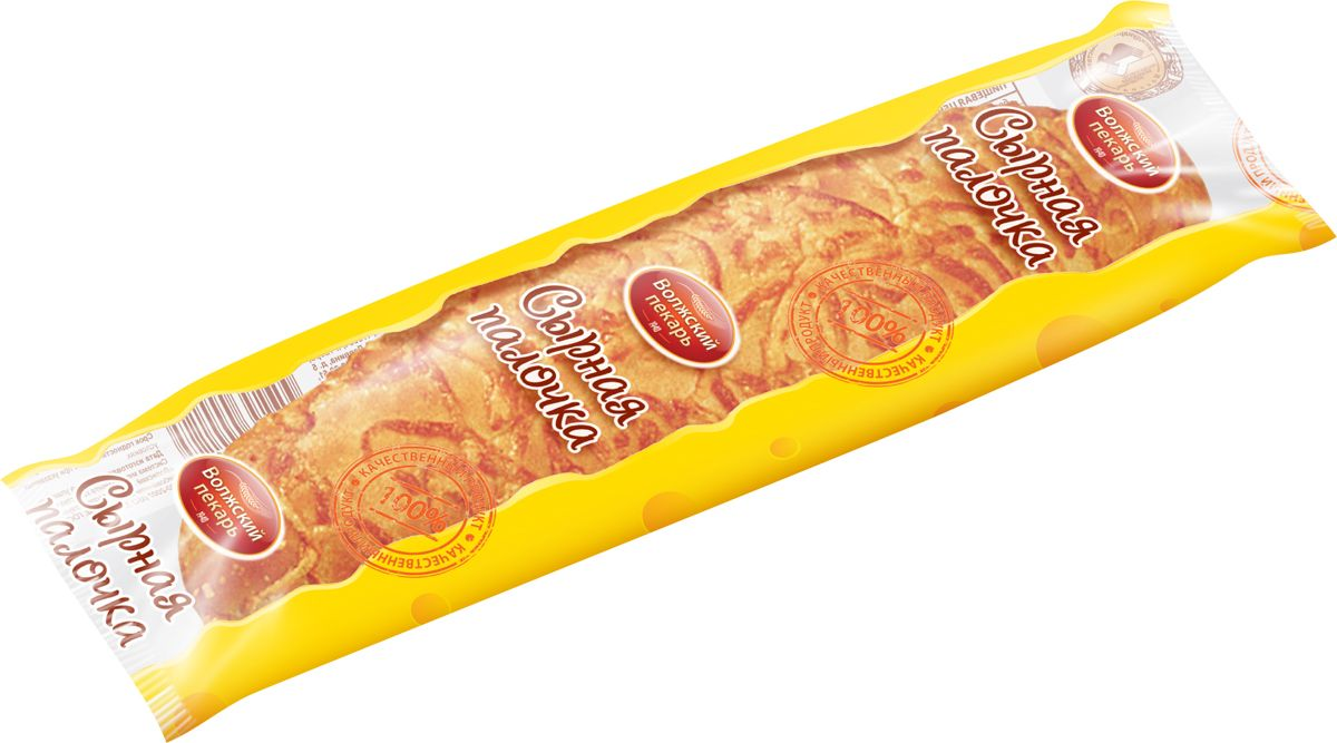 Волжский Пекарь Сырная палочка, 65 г волжский пекарь хлеб бородинский в нарезке 300 г