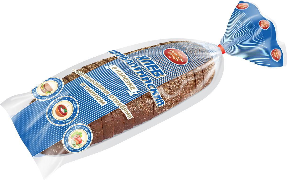 Волжский Пекарь Хлеб Прибалтийский, в нарезке, 300 г пудовъ рижский хлеб 500 г
