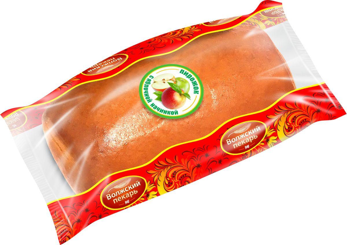 Волжский Пекарь Пирожок с Яблочной начинкой, 60 г marmaluzi пюре овощи со свеклой и языком с 9 мес 190г