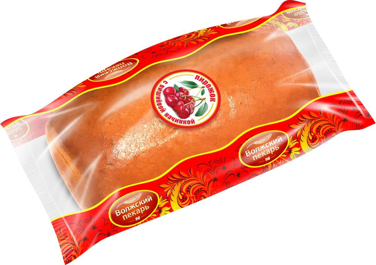 Пекарь Пирожок с Вишневой начинкой, 60 г