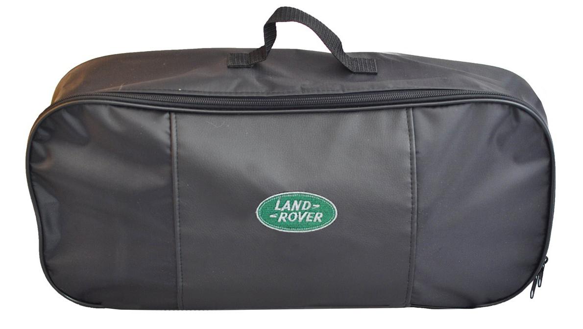 Набор аварийный в сумке Auto Premium, с логотипом Land Rover + жилет светоотражающий, размер XL. 6746967469Набор аварийный в сумке Auto Premium оснащен базовыми элементами, которые необходимы каждому автолюбителю. Состав набора:- аптечка первой помощи автомобильная;- трос буксировочный 5т/пет/пакет;- огнетушитель порошковый ОП-2(з); - АВСЕ, с металлическим ЗПУ;- знак аварийной остановки; - сумка для набора техосмотра Премиум со вставкой из экокожи и вышивкой; - жилет сигнальный со светоотражающими полосами, размер XL.Размер сумки: 47 х 21 х 13 см.