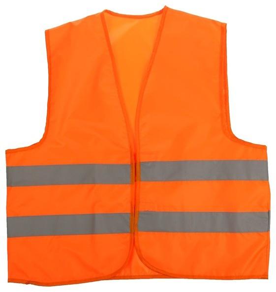 Жилет сигнальный Auto Premium, со светоотражающими полосами, цвет: оранжевый. Размер XL77064;77064Сигнальный жилет выполнен из специального материала с двумя горизонтальными световозвращающими полосами. Жилеты рекомендованы для личного и профессионального использования в дорожных условиях в любую погоду, в любое время суток. Высокая видимость достигается за счет фонового материала повышенной износостойкости и световозвращающих полос шириной 5 см. Жилет застегивается на липучки.
