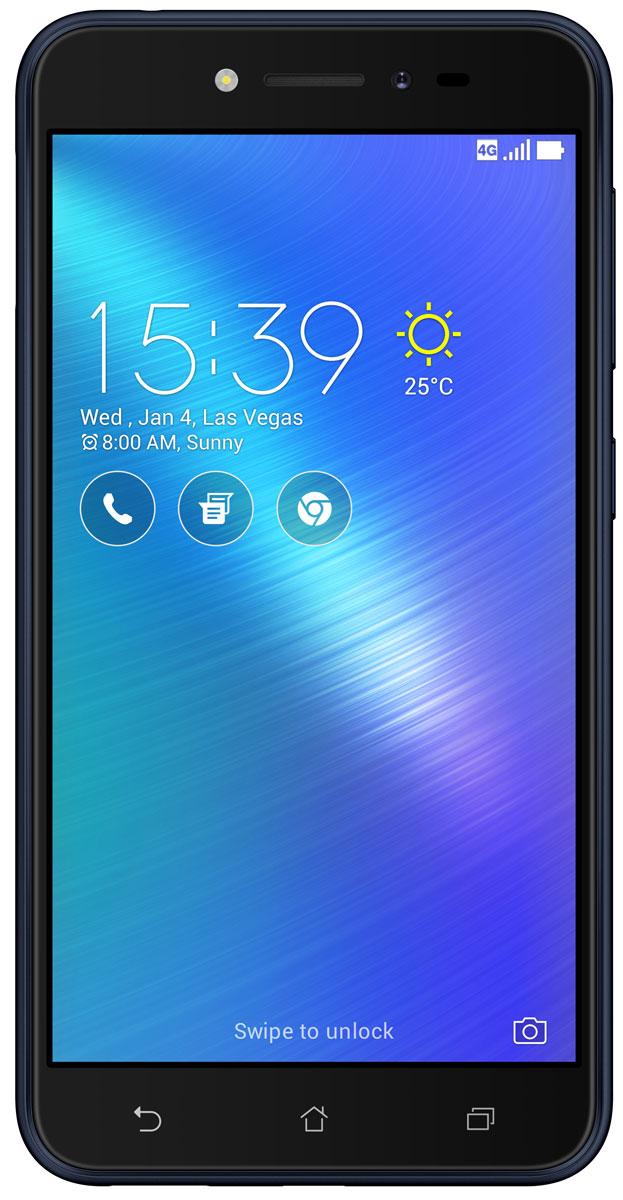 ASUS ZenFone Live ZB501KL, Navy Black90AK0071-M00930ASUS ZenFone Live ZB501KL - поддерживает уникальную технологию BeautyLive, которая позволяет выполнять ретушь портретов в режиме реального времени, автоматически повышая качество фотографий и видео. Кроме того, в нем предусмотрены цифровые микрофоны с системой шумоподавления, способные передавать чистый стереозвук с четким и разборчивым голосом человека.Фронтальная камера может получать качественные фотографии даже при минимальной освещенности - она снабжена светочувствительной матрицей с большими физическими размерами и вспышкой, сохраняющей естественные тона кожи человека. С ее помощью также можно создавать панорамные и групповые снимки - широкоугольная оптика помогает запечатлевать в кадре все важные подробности.Основная 13-мегапиксельная камера не отстает от фронтальной - она снабжена светосильной оптикой, чувствительной матрицей и LED-вспышкой. Для нее предусмотрены такие интересные возможности, как автоматическое повышение качества портретов, функция HDR, а также специальные режимы для съемки детей и для создания панорамных фотографий.Смартфон также отлично подойдет для любителей фильмов, игр и музыки. Его IPS-экран делает изображение по-настоящему живым и насыщенным, а также помогает сохранить четкость картинки при просмотре под любым углом.Мощный динамик воспроизводит все частоты, слышимые ухом человека, и не искажает звук даже при выборе максимальной громкости. Кроме того, устройство поддерживает технологию DTS Headphone X, позволяющую получать объемное аудио при подключении проводных наушников.Фирменная оболочка операционной системы ZenUI 3.0 - это не только яркий интуитивно понятный интерфейс. Она поддерживает управление жестами и позволяет оптимизировать производительность устройства, а также предоставляет доступ ко множеству тем оформления и виджетов.Телефон сертифицирован EAC и имеет русифицированный интерфейс меню, а также Руководство пользователя.Телефон для ребёнка: советы экспертов. Статья OZON Ги