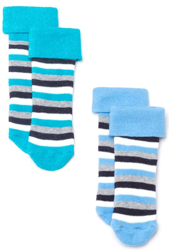 Носки детские Maloo by Acoola Flores, цвет: голубой, серый, 2 пары. 22154420009_8000. Размер 11/1222154420009_8000Носки Maloo by Acoola, изготовленные из высококачественных материалов, идеально подойдут малышу. Эластичная резинка мягко облегает ножку, благодаря чему ребенку будет комфортно и удобно. Усиленная пятка и мысок обеспечивают надежность и долговечность. В комплект входят две пары носочков с полосатым принтом.