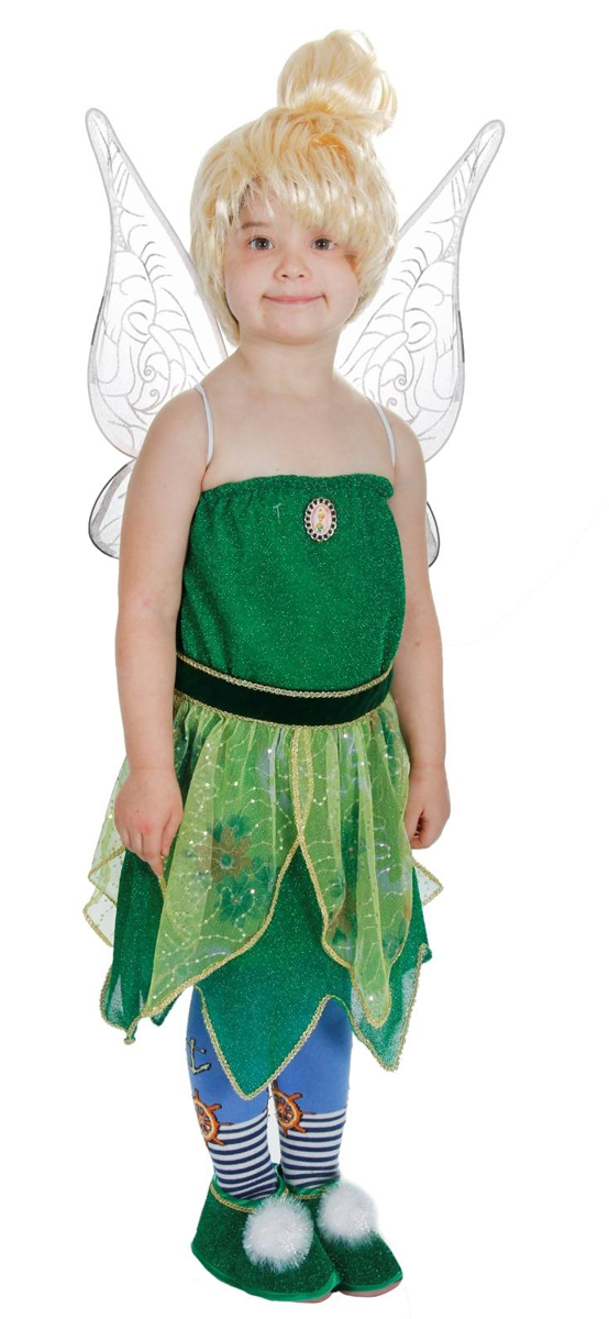 Батик Костюм карнавальный для девочки Фея Динь-Динь размер 34 детский костюм принцессы авроры 34
