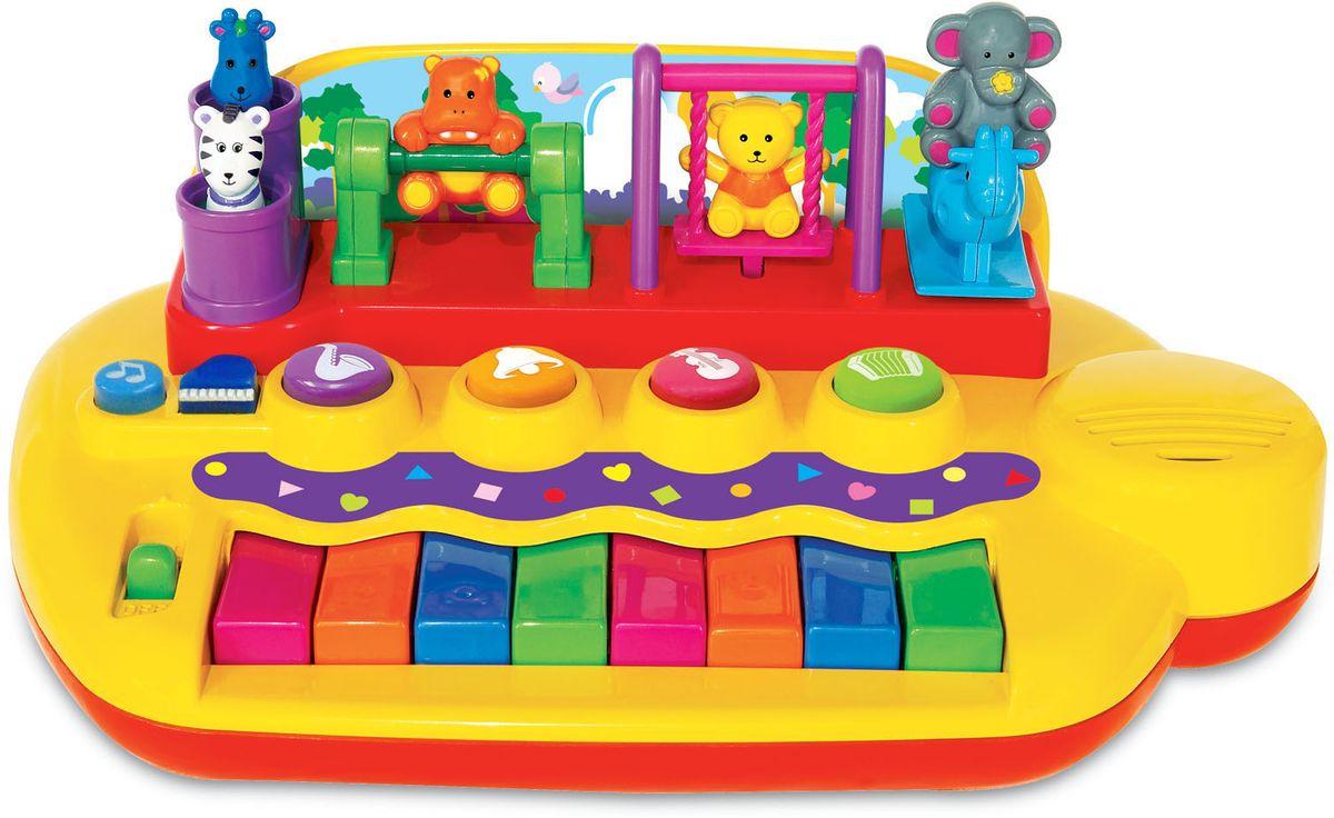 Zakazat.ru: Kiddieland Развивающая игрушка Пианино с животными на качелях