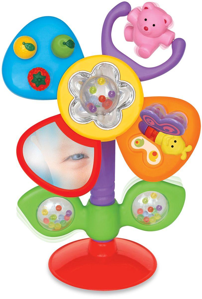kiddieland развивающая игрушка осьминог на присоске 038190 Kiddieland Развивающая игрушка Цветок