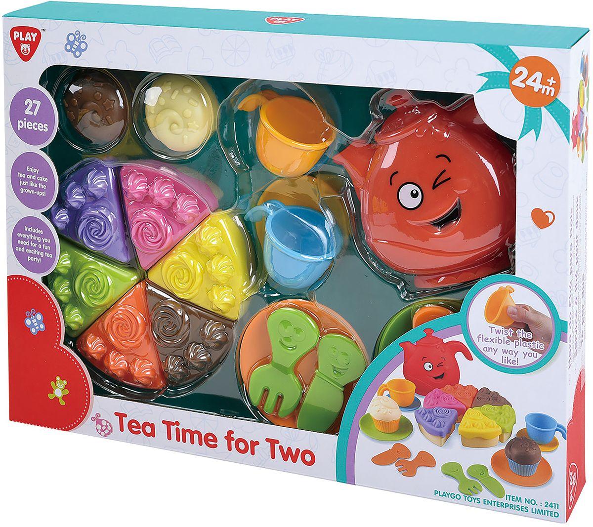 Playgo Игровой набор Набор для чаепития playgo игровой набор корзина с выпечкой