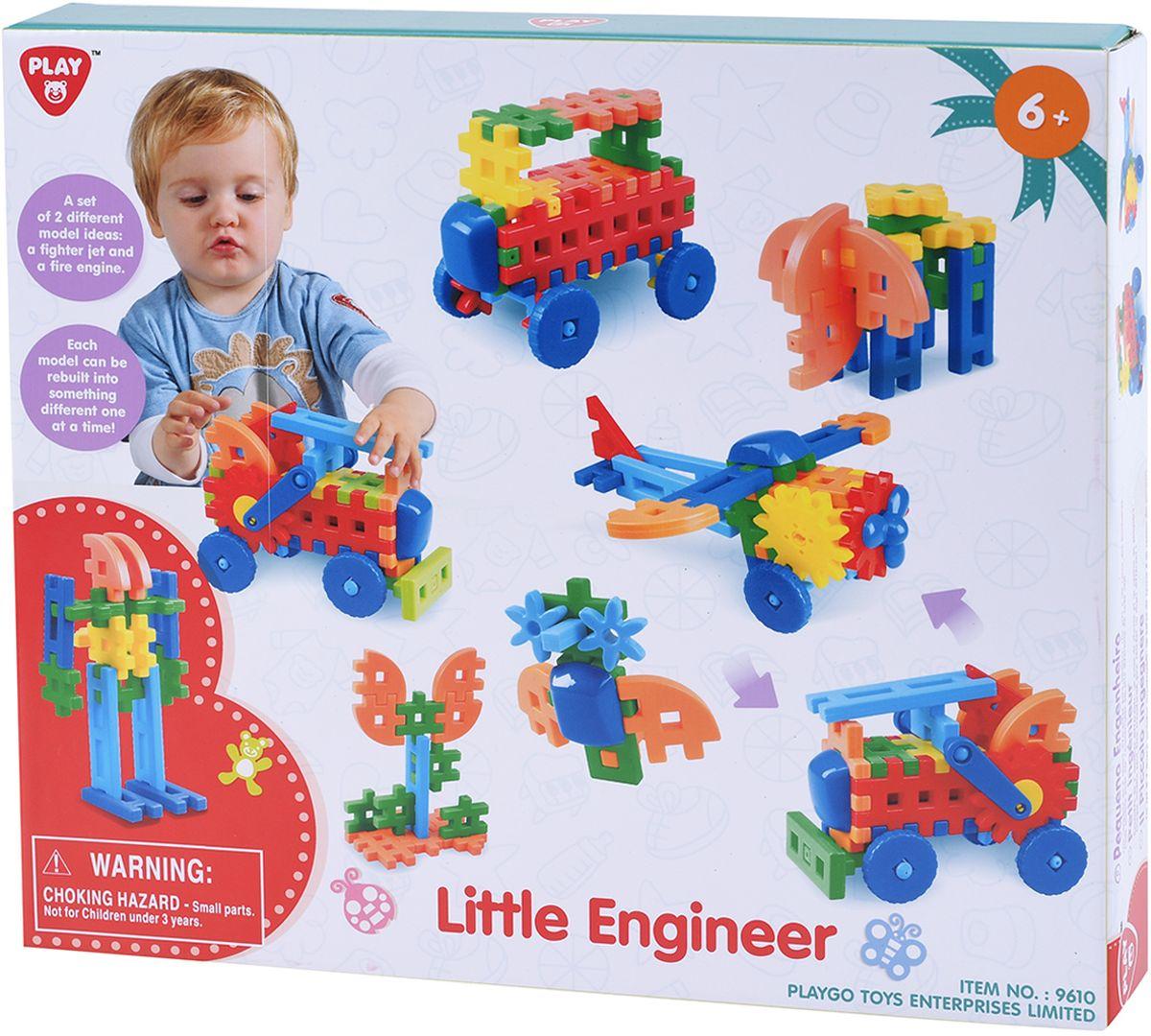 Playgo Игровой набор Маленький инженер playgo игровой набор корзина с выпечкой