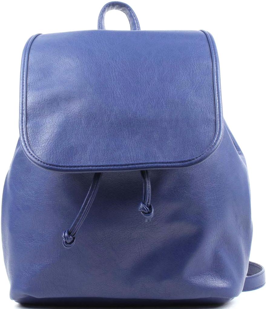 Рюкзак женский Медведково, цвет: синий. 17с4359-к1417с4359-к14Городской женский рюкзак Медведково изготовлен из искусственной кожи. Рюкзак с одним отделением. Верх фиксируется стягивающим шнурком и закрывается клапаном на магнитную кнопку. Внутри есть карман на молнии и карман для сотового. Заплечные ремни регулируются по длине (максимум - 90 см). Рекомендации по уходу за кожгалантерейными изделиями: избегайте чрезмерных нагрузок. Чистку проводите путем протирания влажной тряпкой без использования жидкостей, содержащих спирт и кислоты. Просушивайте вдали от отопительных приборов, избегая попадания прямых солнечных лучей. Не рекомендуется носить изделия светлых тонов с вещами, имеющими способность окрашивать. Не используйте изделия из искусственных материалов при температуре ниже -25°С.