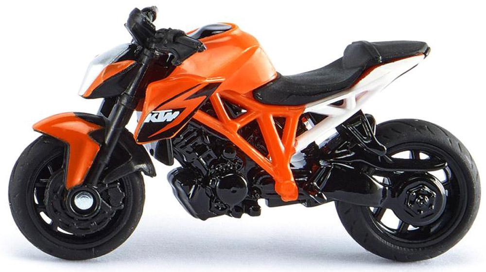 Siku Мотоцикл спортивный KTM цвет оранжевый рычаги тросики и кабели для мотоцикла keli cnc