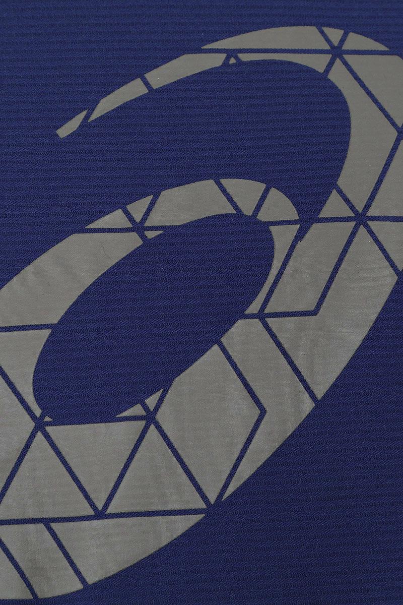 Футболка для бега мужская Asics Graphic SS Top, цвет:  синий.  134085-8010.  Размер S (46) Asics