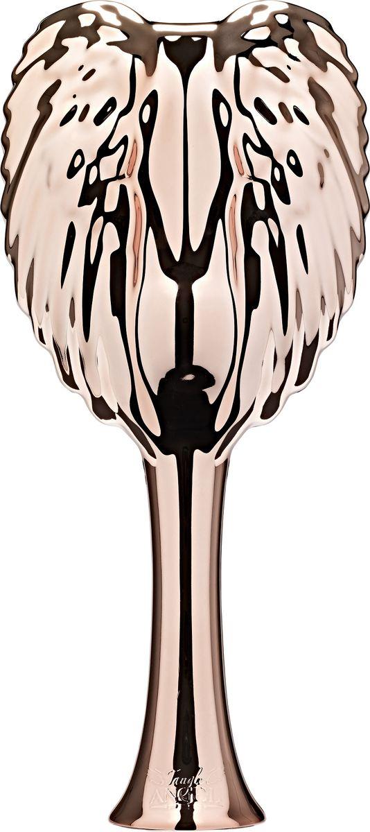 Tangle Angel Pro Расческа для волос Rose Gold21302Tangle Angel Pro - новая революционная расческа-детанглер от лаборатории Ричарда Варда. Специалисты разработали принципиально новые зубчики-лезвия, которые гнуться в противоположных направлениях, за счет чего происходит максимально легкое и безболезненное расчесывание и распутывание узелков на волосах. Уникальная антистатическая вставка сводит к минимуму статичность волос - они больше не будут электризоваться! Tangle Angel Pro идеально подходит для расчесывания как влажных, так и сухих волос, ее спокойно можно использовать вместе с феном.