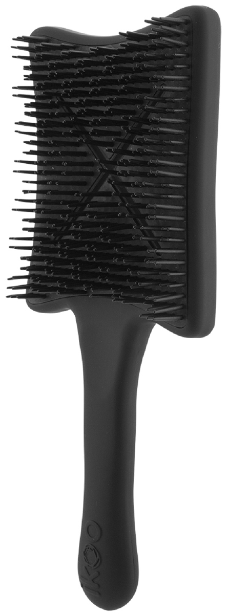 Ikoo Paddle X Pops Расческа для волос Beluga Black291952Paddle X Pops - это компактная версия легендарного детанглера для укладки волос Paddle X. Благодаря широкой рабочей поверхности расчески и вогнутой форме, paddle X pops обеспечит вам максимальный объем для ваших волос во время укладки. Идеально интегрированные в вогнутую панель зубчики и X-образные вентиляционные отверстия обеспечат оптимальную циркуляцию воздуха во время укладки феном — блестящие, здоровые волосы с длительным эффектом!