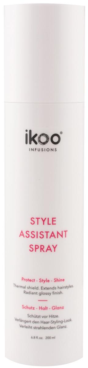 Ikoo Защитный спрей для укладки Style Assistant Spray298739Новый спрей для защиты волос Style Assistant Spray от ikoo в стильной упаковке обеспечит вам оптимальную подготовку к укладке. Используйте его вместе с электрическим стайлером e-styler или во время укладки волос феном. Спрей гарантирует правильную защиту от температуры, придаст вашим волосам дополнительный блеск и сохранит форму укладки.Вы будете неотразимы! Вау-эффект!Способ применения: нанесите небольшое количество защитного спрея Style Assistant Spray по всей длине волос и приступайте к укладке!