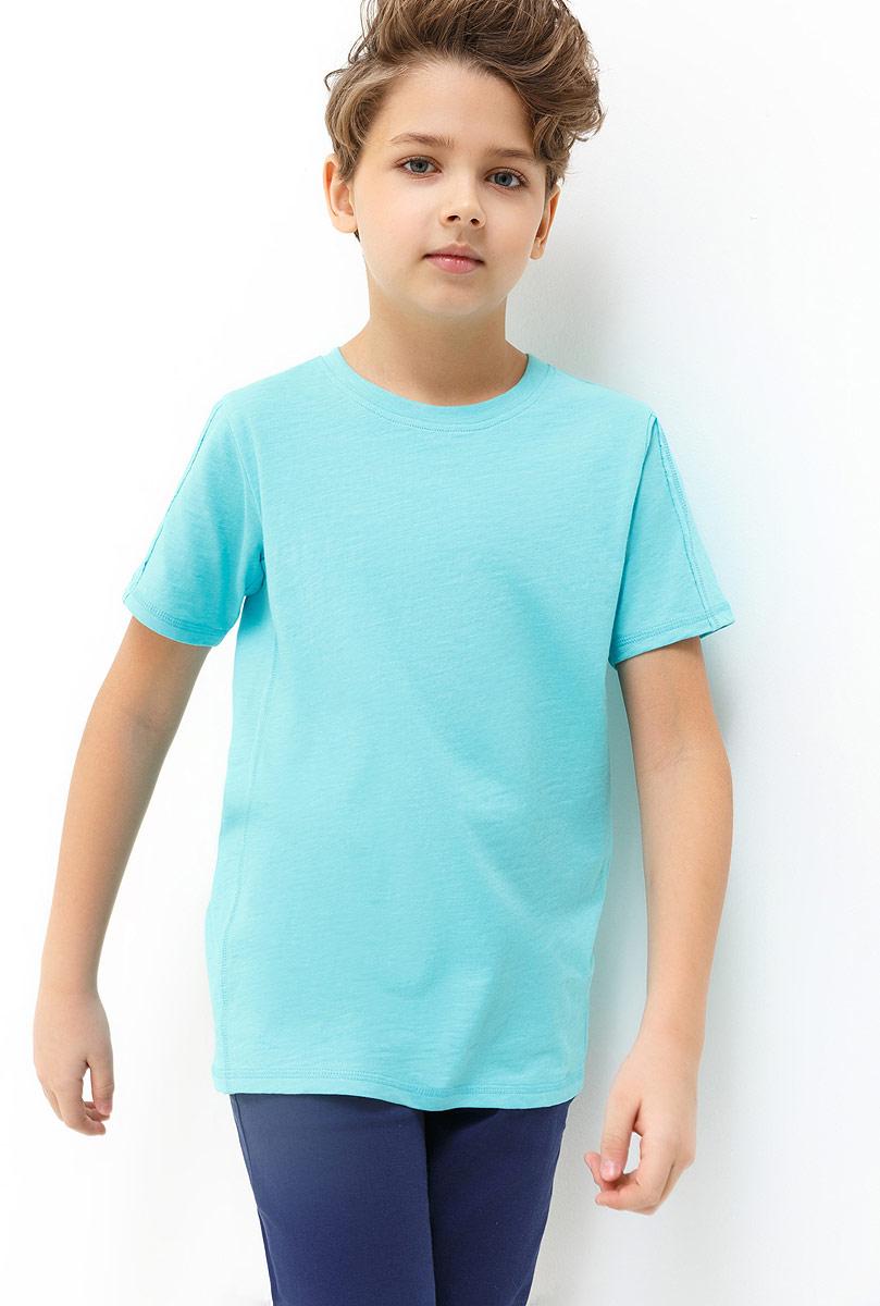 Футболка для мальчика Acoola Beckham, цвет: голубой. 20110110100_400. Размер 15820110110100_400Детская футболка Acoola станет стильным дополнением к детскому гардеробу. Модель выполнена из натурального хлопка, приятная на ощупь. Модель с круглым вырезом горловины и короткими рукавами.